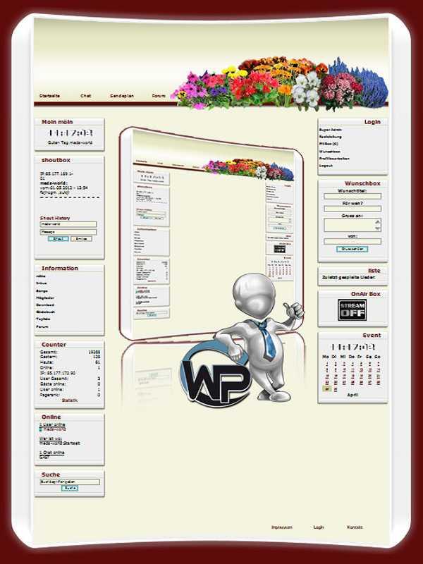 W-P CMS Portal V2 / Webhosting
