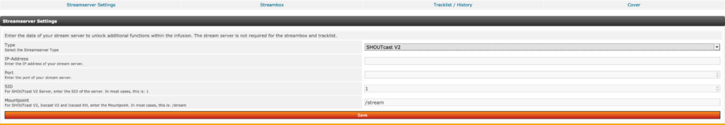 SHOUTcast Tools for PHP-Fusion 7.02.x / Version 1.2.5