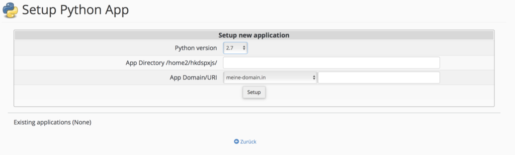 Webhosting: Python / Ruby / Node.js