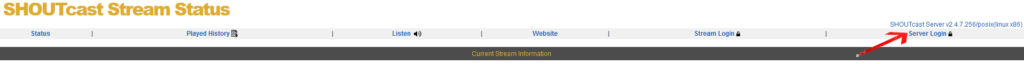 SHOUTcast V2 Server auf der SHOUTcast.com Plattform registrieren (Vor SHOUTcast v2.6)